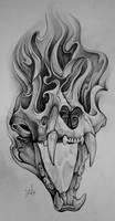 scull 1 by zolatattoo