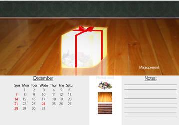 2008 Calendar - December by knutroald