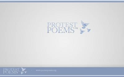 Unused logo - protestpoems.org by knutroald
