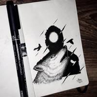 INKTOBER 2017 - Day 15  by AdilNajeeb10
