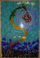 Glasswork Dragon by Riibu