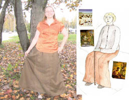 School - Skirt by Riibu