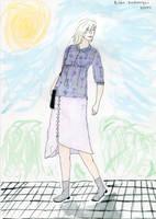 Lilac shirt by Riibu