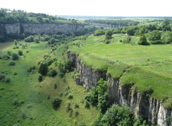 UA - A view of a canyon 1 by Riibu