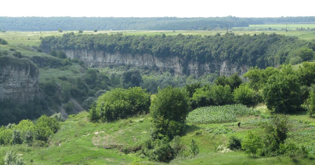 UA - A view of a canyon 2 by Riibu