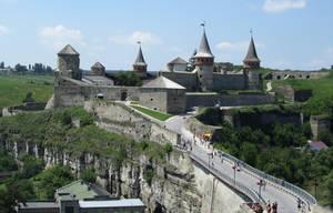 UA - view of a castle by Riibu
