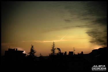 Sky in December. by Zazaka