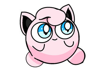 Jigglypuff by Bloodbluearies