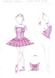 Sugar Plum Fairy costume design by NanaWakagimi