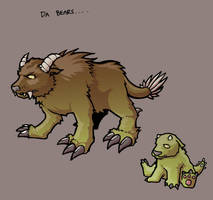 Character Design: Da Bears by mastermatt111