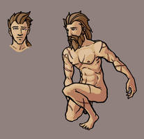 Character Design: Bear-Man by mastermatt111