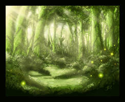 The Forbidden Forest by mezaih