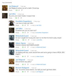 Skyrim Comment Chain by KingDragon34
