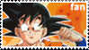 Goku Fan Stamp by XxChiChixX