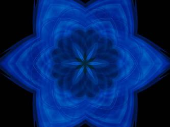 Blue Flower by ravenwhisper