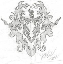 Tribal Sheild by ravenwhisper