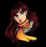 [C.S]:Autumn Secret Exchange- Alpha Dorado by JKDreamer