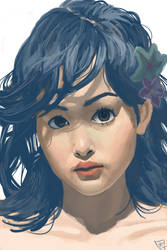 Portrait Study 4 by freeCardboardBox