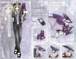 DW: Tabitha and Floximon by LadySilvie