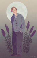 Remus Lupin commission by EZPITI