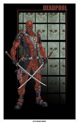 Deadpool by SachaLefebvre
