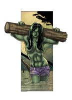 She-Hulk by SachaLefebvre