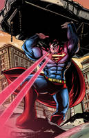 Superman Man of Steel in Color by SachaLefebvre