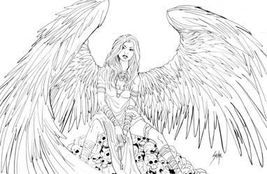 Angel by SachaLefebvre