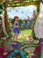 Butterfly's Perspective by KrisaHe