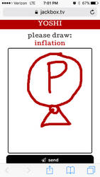 The only inflation art you'll see on this profile. by Yoshikingmaster