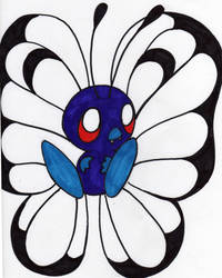 Butterfree by TubaPlaya