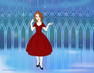 Euterpsichore as Snow Queen by Shirekat