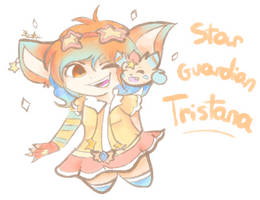 Star Guardian TRISTANA (Fan Art) by LuxCENTER