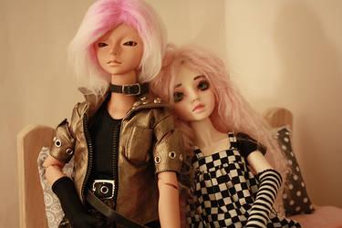 Jacks and Junie by malvagitabella