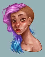 Painterly Piper by Clamantes