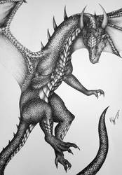 Black Dragon by Nymonyrya