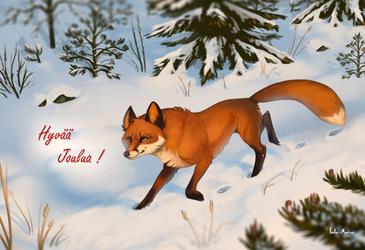 Happy holidays! by Helmiruusu