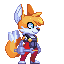 Thicc Tails Concept Sprite by SpookyLotus