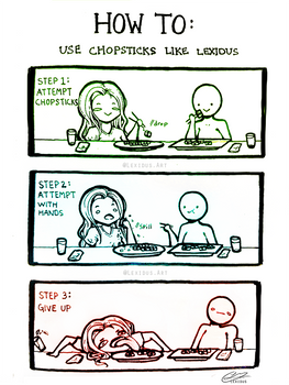How To Use Chopsticks by Lexidus