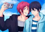 RInHaru Selfie by Vulgar1sm