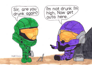 The Sand Box Chronicles issue 17 panel 3 by Mad-House-Studios