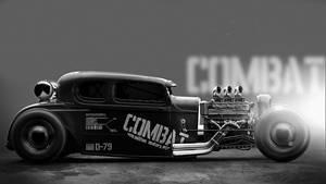 Combat by MikaelLugnegard