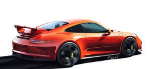Porsche GT3 by MikaelLugnegard