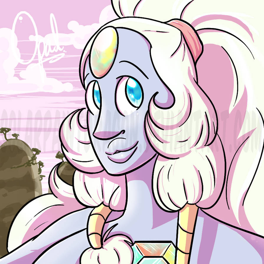 LOOK I UPLOADED SOMETHING!  little Opal that I doodled this morning, just to do something a little different than what I've been working on -v- I figured I'd upload it cause I haven't uploaded...