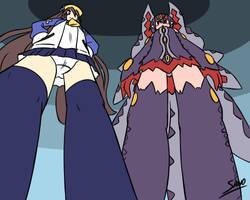 The Fuka and Desco Show: Super Sized by Reimutoadin