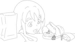Mugi's Fascinating Fast Food by Reimutoadin