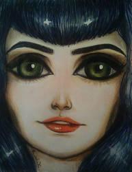 Portrait of July by LightheartedLoki