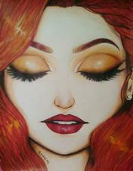 Portrait of August by LightheartedLoki