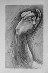 Hand Study #3 by LightheartedLoki