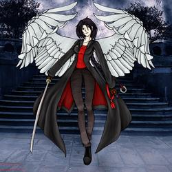 Gabriella Six-wings by Nim-Sindarin